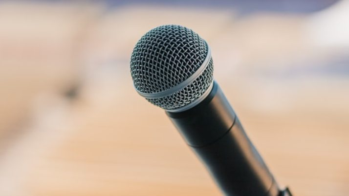 Speaking in public… to an audience that isn't listening